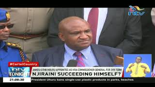 James Githii Mburu appointed as KRA commissioner general for 3yrs term
