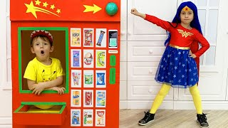 Sofia saves brother and becomes a superhero | Story for children