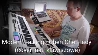 Modern Talking - Cheri Cheri lady  (cover inst. klawiszowe)