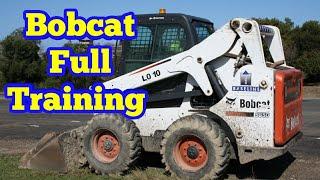 How to operate Bobcat full training Urdu hindi