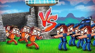 Minecraft   Good vs Evil - ESCAPED PRISONER CITY TAKE OVER! (Police vs Prisoners)