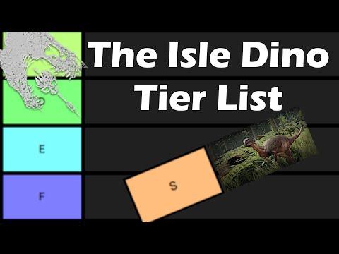 The Isle Dino Tier List