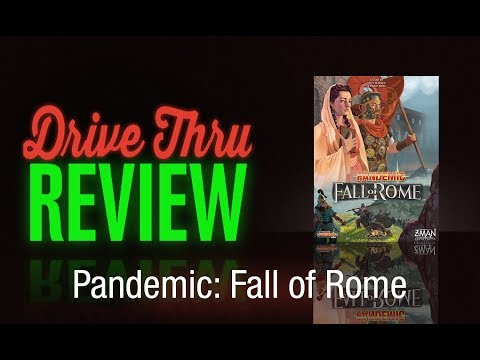 "[DriveThruReview] #641: ""Pandemic: Fall of Rome"""