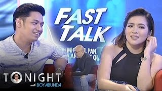 TWBA: Fast Talk with Angeline Quinto and Michael Pangilinan