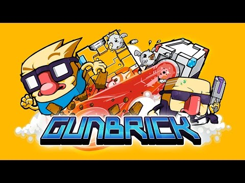 Gunbrick (by Nitrome) - IOS / Android - HD Gameplay Trailer