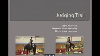 UNL Horse Judging - Judging Trail