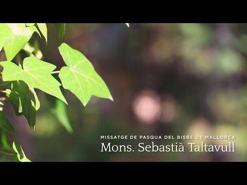 Missatge de Pasqua del Bisbe de Mallorca Mons. Sebastià Taltavull