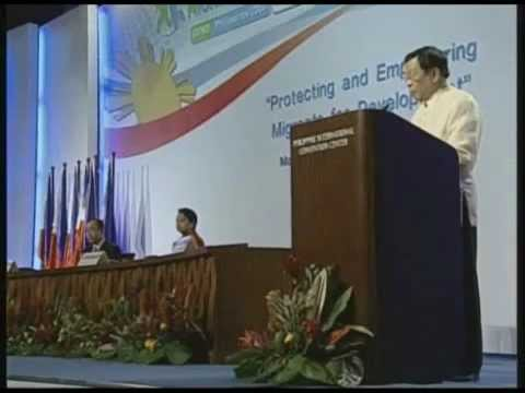 GFMD 2008 - Remarks of the Hon. Alberto G. Romulo