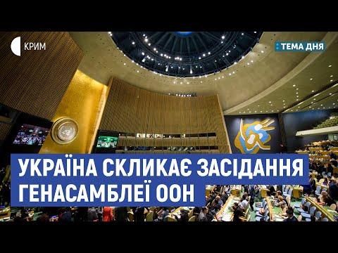 Україна скликає засідання Генасамблеї ООН | Рамазанов, Умеров, Матвійчук | Тема дня