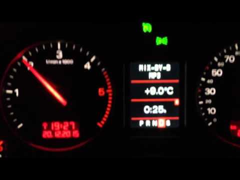 Die Berechnung des Benzins auf km des Weges