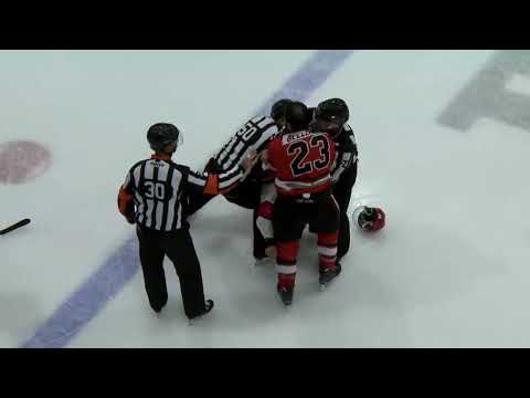 Thomas Bellemare vs. Derek Parker