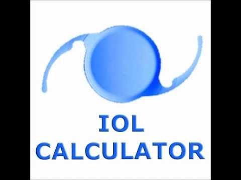Video of IOL CALCULATOR