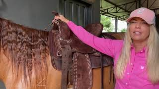 2020 Seven Lightweight Saddle Review From Shannon Kerr. American Trainer Living & Working In Brazil