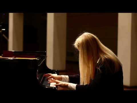 Powerfully mesmerizing piano performance.