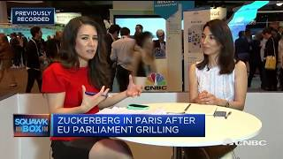 Zuckerberg meets with France's Macron in Paris | In the News