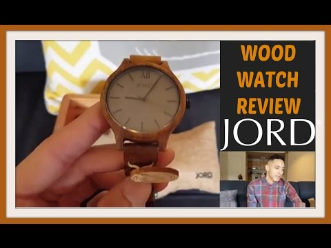 Jord Wood Watch Review – Frankie Koa and Ash wooden watch