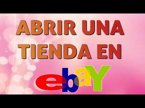 Cómo vender en eBay creando una tienda online