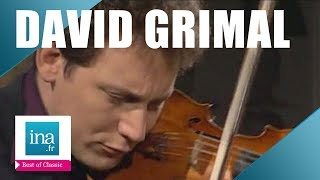 "David Grimal  ""Prélude en mi majeur"" de J.S Bach | Archive INA"