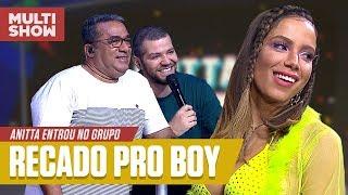 Anitta MANDA RECADO Pro CONTATINHO! | Melhores Momentos | Anitta Entrou No Grupo | Música Multishow