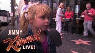 """Kimmel Asks Kids """"Do You Know Any Naughty Words?"""""""