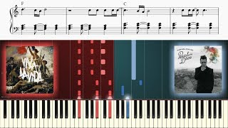 VIVA LA VIDA and THIS IS GOSPEL are made for each other on piano!