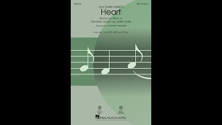 Heart (SAB) - Arranged by Audrey Snyder
