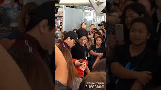 [FANCAM] Krist&Singto Heading To Chengdu 16/03/2018