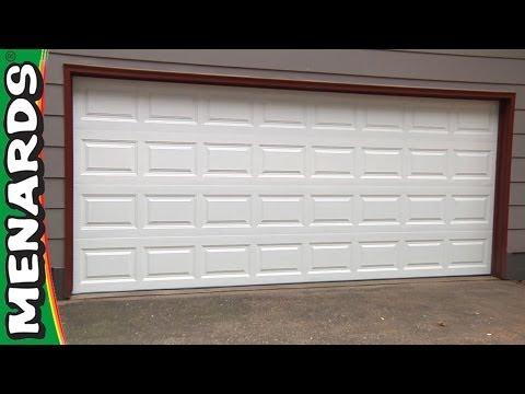Garage Door - How To Install - Menards