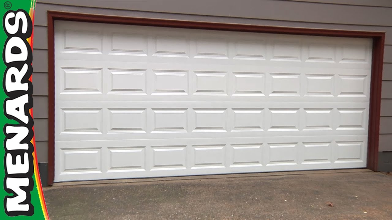 Beautiful Garage Doors U0026 Garage Door Openers At Menards®