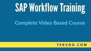 SAP Workflow Training - How Fork works in SAP Workflow - Complete Course