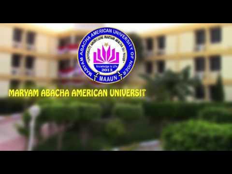 Maryam Abacha American université of Niger