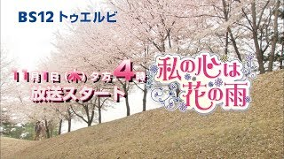 韓国ドラマ「私の心は花の雨」BS12トゥエルビ放送決定❗️