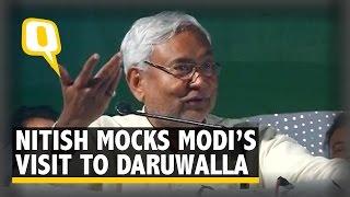 Nitish Mocks Modi's Meeting With Bejan Daruwalla