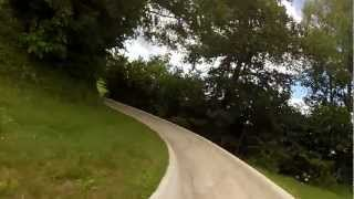 preview picture of video 'Sommerrodelbahn Moosburg GoPro HD'