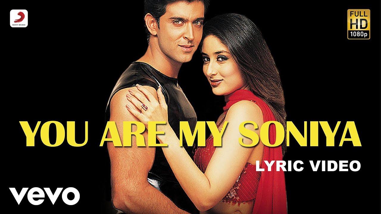 You Are My Soniya Lyrics - Kabhi Khushi Kabhie Gham... (2001)
