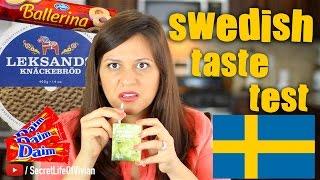 SWEDISH FOOD TASTE TEST IKEA #2 | SWEDEN | VIVIAN REACTS