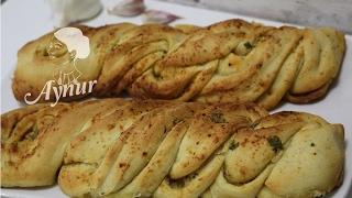 Sarimsakli ekmek tarifi # Selbstgebackenes Knoblauchbrot Rezept