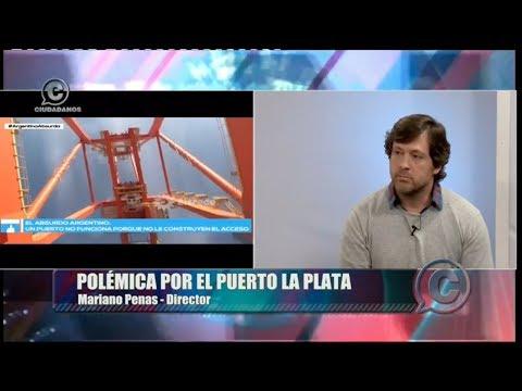 """VIDEO.Polémica por el Puerto La Plata: """"El informe de Lanata es mendaz y malicioso"""""""