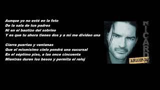 Ricardo Arjona- Duele Verte