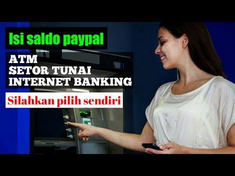 Cara isi saldo paypal menggunakan kartu debit