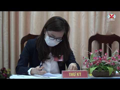 Phó Bí thư Đảng ủy Khuất Mạnh Thắng dự và chỉ đạo Đại hội chi bộ