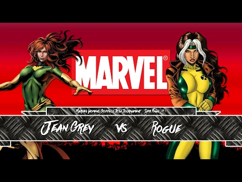 Marvel Goddess Title Tournament || Semi Final #1 || Jean Grey v Rogue || #FWF