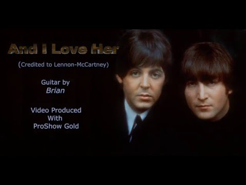 And I Love Her (The Beatles Instrumental)