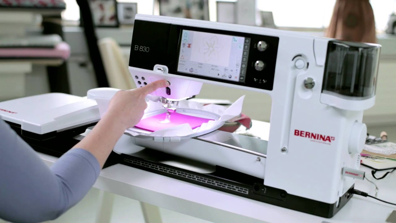 BERNINA CutWork: como usar o CutWork com o sistema de bordado BERNINA