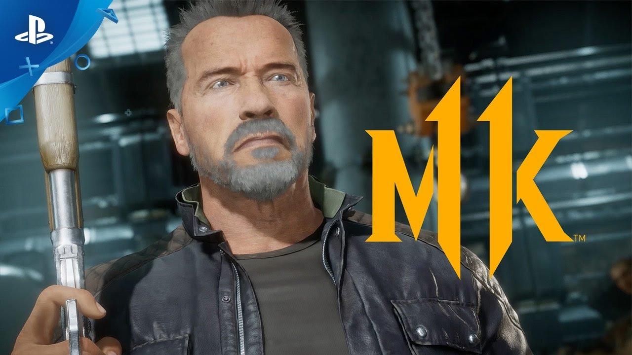 Jogabilidade de Terminator Revelada em Mortal Kombat 11, Novas Skins