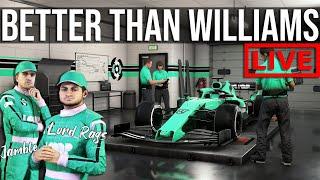 F1 2020 - My Formula 1 Team Is ALREADY Better than Williams | MY TEAM