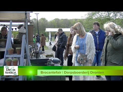 VIDEO | Brocante Paasfair in Dronten: ,,Iedereen is blij en wij ook''