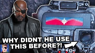 Why Didn't Nick Fury Call Captain Marvel Earlier? | Marvel Theory