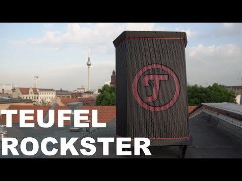 TEUFEL ROCKSTER im Test - Der 1000€ Bluetooth Lautsprecher