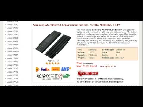 Samsung AA PB4NC6B Replacement Battery